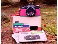 Pentax MV Film Camera & 50f2 35mm
