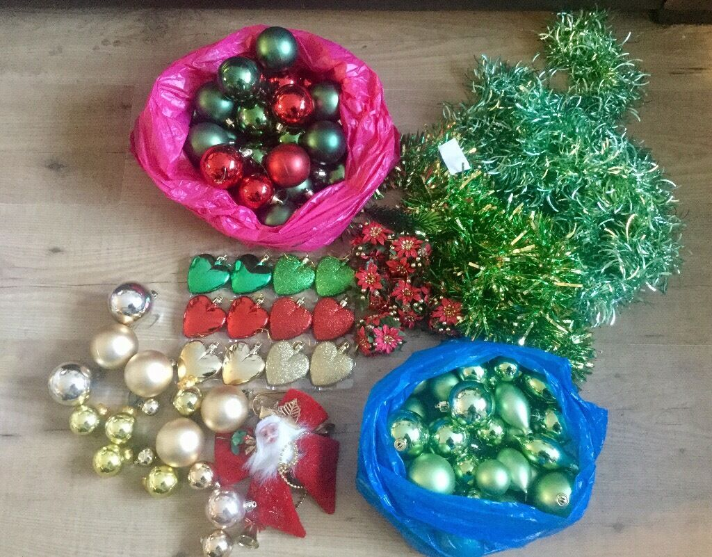 Selection of Christmas decorations FAVERSHAM AREA
