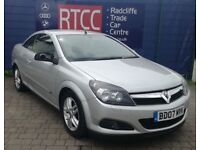 2007 (07), Vauxhall Astra 1.9 CDTi Sport Twin Top 2dr Convertible, AU WARRANTY INCLUDED, £1,895 ono