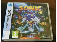 Sonic Colours DS game