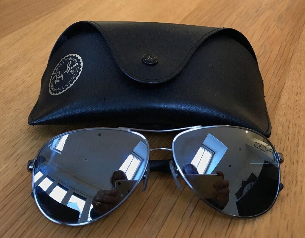 e82cb001731f51 GENUINE Ray-Ban Model RB8313 004 K6 Aviator Carbon Fibre Sunglasses