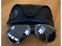 GENUINE Ray-Ban Model RB8313 004/K6 Aviator Carbon Fibre Sunglasses