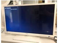 White Bush 28 inch flatscreen TV