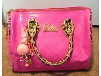 Women's Paul's boutique pink Barbie handbag