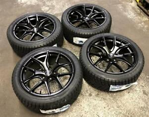 18 AVANTE GARDE WHEELS 5x112 and WINTER TIRES 245/40R18 (AUDI CARS) Calgary Alberta Preview