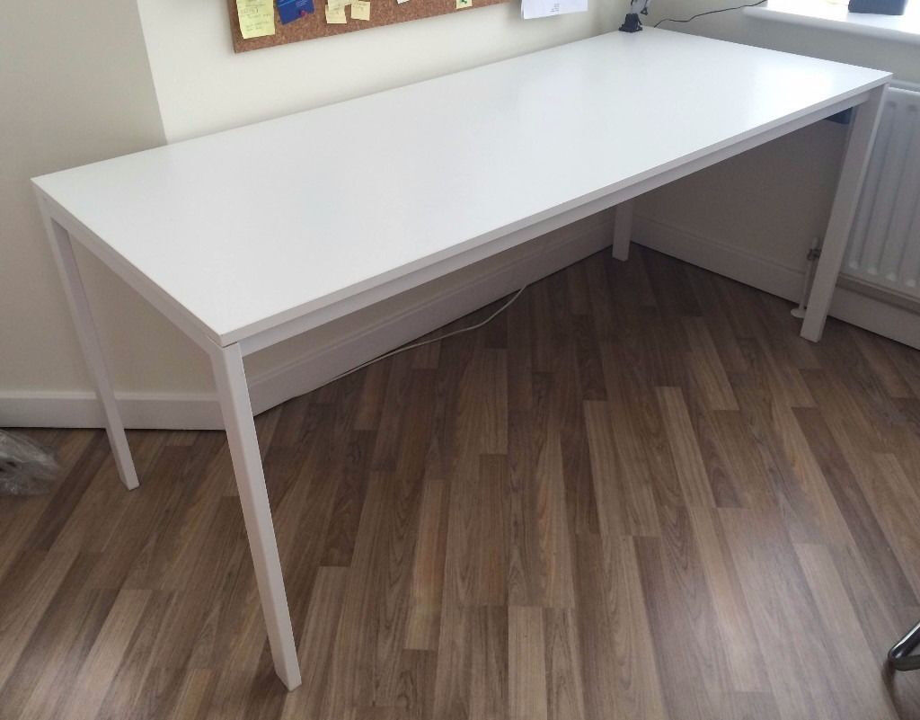 huge discount 88e54 57d5d Ikea White Table. Melltorp 175 cms long x 75 cms wide 74cms high. | in  Pembroke Dock, Pembrokeshire | Gumtree