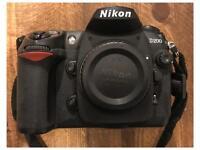 Nikon D200 Body - Low shutter count 2636