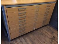 FOR SALE Brand New Beechwood plan chest A0+