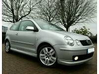 2004 VW POLO 1.9 TDI SPORT * 1 LADY OWNER FACTORY KIT IMMACULATE CAR* golf audi citroen fabia