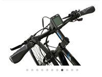 carrera crossfire electric bike, M21 frame