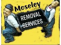 Removals,and delivery Moseley's value man and van hire & complete relocation solutions Free quote