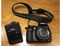 Nikon D D3100 14.2MP Digital SLR Camera - Black (Body only)