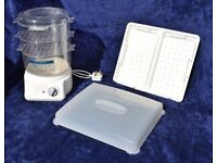 Russell Hobbs Classic Steamer 3500 & Warmng Tray
