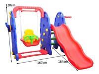 Kids Swing Slide slide