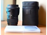 Sigma 18-35mm f/1.8 Canon Fit [pristine condition] with UV Filter, Polariser and Variable ND Filter
