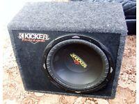 Speaker KICKER Subwoofer