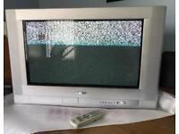 "TV - Sanyo 28"" CE28FWN6-B CRT (Tube)"