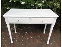 Solid pine dressing table desk drawer
