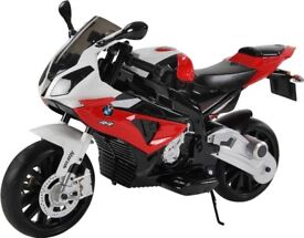 Electric ride on BMW S1000RR motorcycle 'as new'