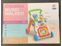 Baby Stroller Music Walker Toy Anti-rollover Learning Walking NEW