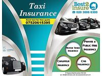 PCO Taxi Insurance, Mini Cab Insurance, Chauffeur Insurance - Cheapest Deals