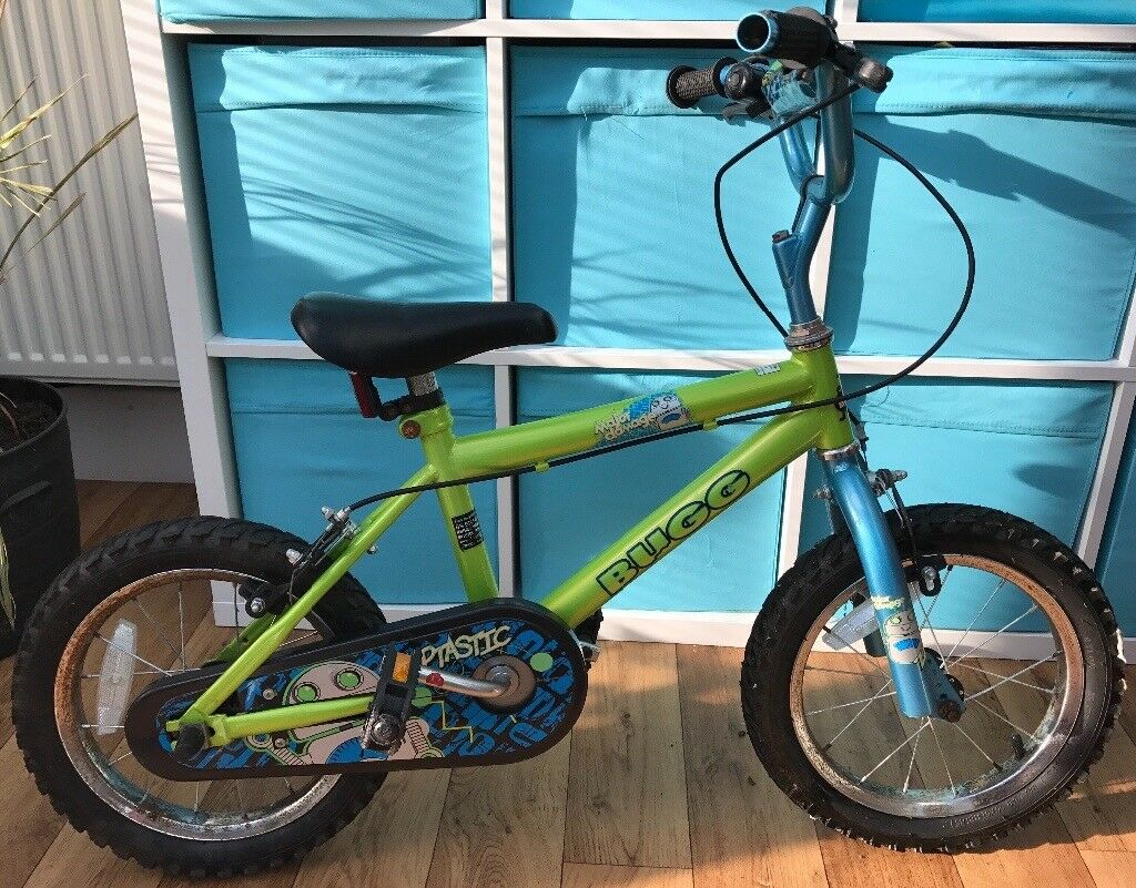 Bugg Kids Boys Push Bike 3-5 years