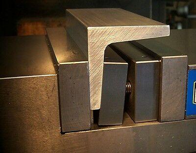 Quadrallel-mill Workholding Tool For Machinist Bridgeport Cnc Vise Vice Jaw Kurt