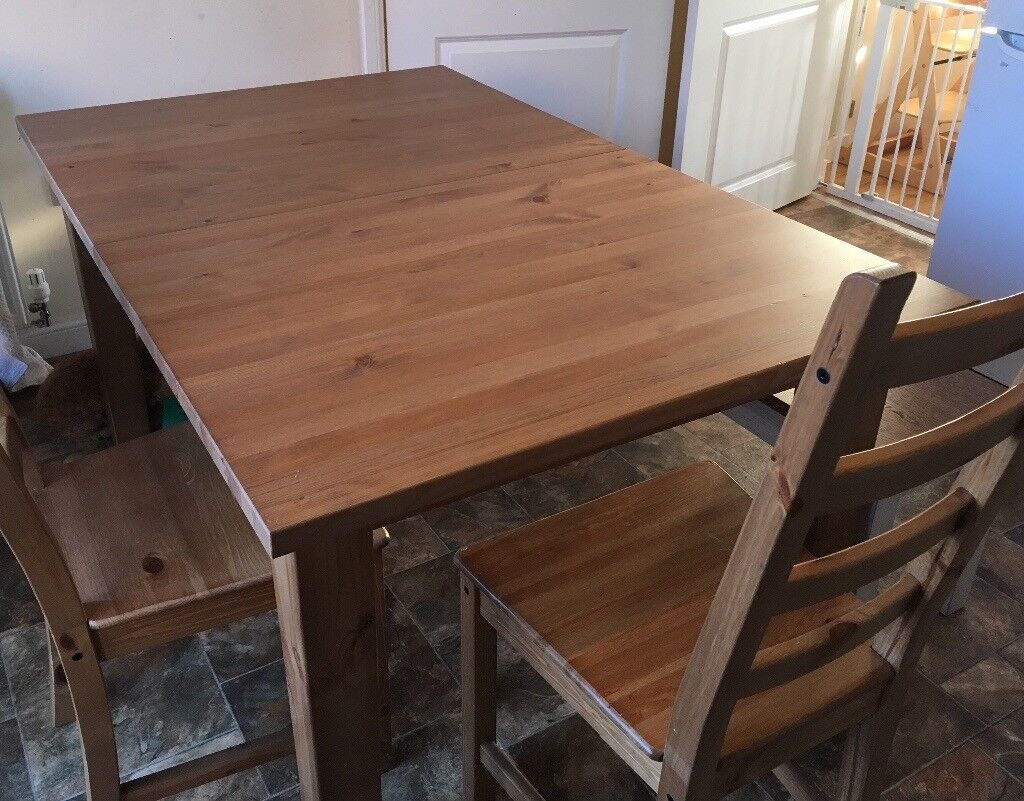 Dining Table And Bench From Ikea For Sale