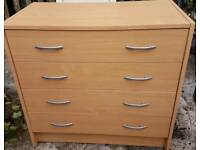 Chest of drawers 4 drawer