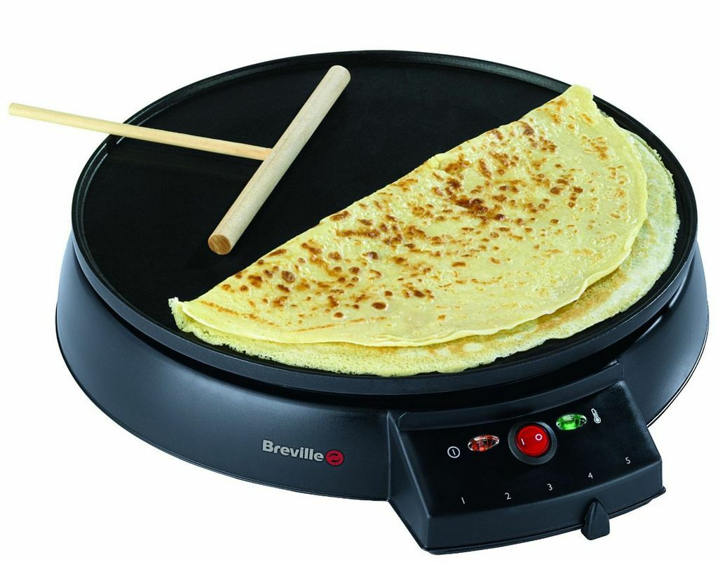 Traditional Crepe Maker Cook Electric Omelette Tortilla Pancake Machine Griddle
