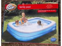 Family Pool - 200 cm length by 150 cm width by 50 cm height - £15