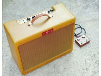 LazyJ J20 (with Reverb, Tremolo & Power Scaling) - Tweed Deluxe style amp