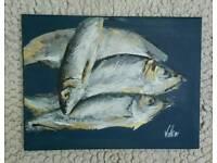 Original painting - Herrings
