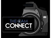 CAMERA EQUIPMENT HIRE - DSLRs | LENS | AUDIO | LIGHTING | ACCESSORIES | DRONES |