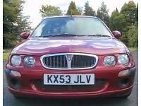 Rover 25 IL 2.0L Turbo Diesel - 111BHP - 54MPG - Low 63K miles - Towbar