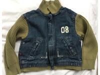 Obaibi jacket/fleece age 4/5