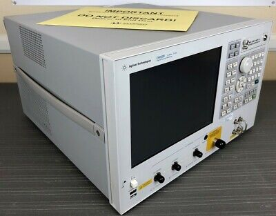 Agilent Keysight E5052b Ssa Signal Source Analyzer 10 Mhz To 7 Ghz - Calibrated