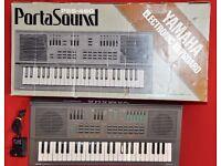 Yamaha PortaSound PSS-460 Keyboard £69