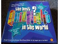 The Best Quiz Night in the World game kit - Brand New