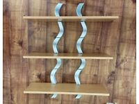 Set of 3 shelves