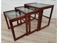 Vintage Nest Of Tables (DELIVERY AVAILABLE)