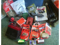 JOB LOT - MODERN / VINTAGE /RETRO CAR PARTS - SOME NEW/OLD STOCK - SOME BRAND NEW SEALED / SOME USED