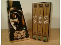 Collectors Special Edition Star Wars Trilogy Rare UK Pal Three Video's