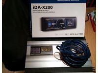 Alpine Digital Media Receiver and Alpine V12 Amplifier