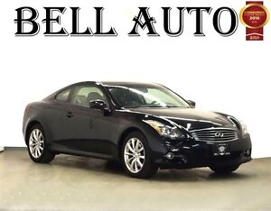 2012 Infiniti G37X AWD 2DOOR COUPE BLUETOOTH BOSE SYSTEM LEATHER