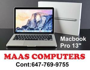 "Macbook Pro 13"" [2015] Mint Condition, Comes with Store Warranty!!! i5-2.7GHz-8GB RAM-128GB Storage"