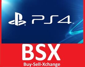 SONY PS4 PLAYSTATION 4 GAME Only £0.50p YES ONLY £0.50p BSX Cyber Week Sale