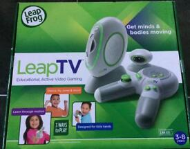 Leap TV Games Console + 2 Games Brand New Unused