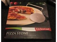 Italian Pizza Stone (also for bread, biscuits, pies etc.) *BRAND NEW*
