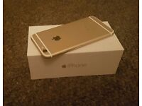 iPhone 6 16GB Gold, Unlocked, Boxed, New, Mint